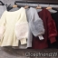 เสื้อเกาหลี พร้อมส่ง เสื้อ knit แขนเฟอร์ thumbnail 7
