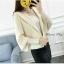 เสื้อเกาหลี พร้อมส่ง เสื้อคลุมไหมพรม thumbnail 1