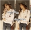 พร้อมส่ง เสื้อเกาหลี เชิ้ตสีขาวปักลายการ์ตูนดิสนีย์ thumbnail 4