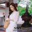 พร้อมส่ง Maxi dress ยาวสีขาว thumbnail 7