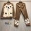 เสื้อผ้าเกาหลี พร้อมส่ง ลายหมีแพนด้า และ ลายคุมิ คุมะ thumbnail 10