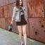 พร้อมส่ง เสื้อผ้าเกาหลี สูทแบรนดัง Chanel thumbnail 3