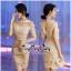เดรสเกาหลี พร้อมส่ง เดรสผ้าบุหงาลูกไม้ตาข่าย thumbnail 2