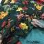 พร้อมส่ง เดรสชีฟองตัวยาวลายดอกไม้ thumbnail 10