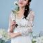 เดรสเกาหลี ลายดอกไม้แต่งเป็นช่อๆ พร้อมส่ง thumbnail 6