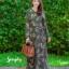 ชุดเดรสเกาหลี พร้อมส่ง Maxi Dress ป้ายหน้า thumbnail 6
