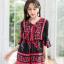 เสื้อผ้าเกาหลีพร้อมส่ง จั๊มสูทพิมพ์ลายเชิง thumbnail 15