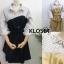พร้อมส่ง Mini dress มาพร้อมเชือกผ้าผูกเอว thumbnail 8