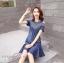 พร้อมส่ง DRESS JEAN FROM KOREA คอกลม thumbnail 10