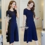 พร้อมส่ง Mini Dress ลุคเรียบหรู thumbnail 1