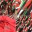 ชุดเดรสเกาหลี พร้อมส่ง แม็กซี่เดรส กับเข็มขัดเส้นใหญ่สีแดง thumbnail 10