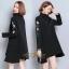 เดรสเกาหลี พร้อมส่ง Mini Dress คอเต่า แขนยาว thumbnail 2