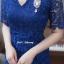 ชุดเดรสเกาหลี พร้อมส่ง Dress ลูกไม้คอวี thumbnail 7