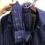 เสื้อผ้าเกาหลี พร้อมส่ง สูทตัวยาวลายทาง thumbnail 13