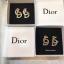 พร้อมส่ง Dior Earring เพชร CZ แท้ thumbnail 3