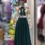 ชุดเดรสเกาหลี พร้อมส่ง Maxi Dress แขนยาว คอปก thumbnail 8