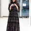 ชุดเดรสเกาหลี พร้อมส่ง Maxi Dress แต่งลูกไม้ thumbnail 1