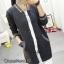 เสื้อเกาหลี พร้อมส่ง เสื้อคลุมไหมพรมตัวยาว thumbnail 3