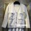 เสื้อผ้าเกาหลี พร้อมส่ง เสื้อคลุมคาดิแกน Chanel thumbnail 4