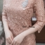 ชุดเดรสเกาหลี พร้อมส่ง Dress ลูกไม้ระบายชาย thumbnail 6