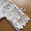 พร้อมส่ง เสื้อผ้าลูกไม้สีขาวตกแต่งริบบิ้นสไตล์วินเทจ thumbnail 13