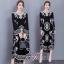 พร้อมส่ง Maxy Dress Bohimien Style คอวี thumbnail 1