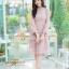 ชุดเดรสลูกไม้ พร้อมส่ง Lace Dress ทรงบาน thumbnail 10