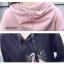 เดรสเกาหลี พร้อมส่ง Dress Hood แขนยาว thumbnail 9