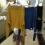 พร้อมส่ง เสื้อปาดผ้าไหมพรม thumbnail 9