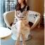 เดรสเกาหลี พร้อมส่ง เดรสผ้าเจอร์ซีย์ทับด้วยเดรสผ้าลูกไม้ thumbnail 6