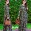 ชุดเดรสเกาหลี พร้อมส่ง Maxi Dress ป้ายหน้า thumbnail 9