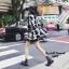 เดรสเกาหลี พร้อมส่ง Dress ไหมพรมลายชิโนริ thumbnail 2