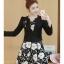 เดรสเกาหลี พร้อมส่ง เดรสกระโปรงทรงเอกับเสื้อสูท thumbnail 1