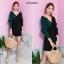 ชุดเดรสเกาหลี พร้อมส่ง Dress 2 tone thumbnail 12