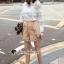 เสื้อผ้าเกาหลี พร้อมส่ง เสื้อลูกไม้กับกางเกงขาสั้น thumbnail 9