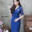 ชุดเดรสเกาหลี พร้อมส่ง Dress ลูกไม้คอวี thumbnail 6