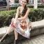 เสื้อผ้าเกาหลี เสื้อกับกระโปรงจีบทวิส thumbnail 4