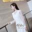 เดรสเกาหลี พร้อมส่ง เดรสผ้าลูกไม้ เกรดดีฉลุลายสวย thumbnail 4