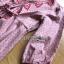 พร้อมส่ง เดรสผ้าเดนิมสีชมพูปักลายสีแดง thumbnail 4