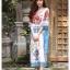 เดรสเกาหลี พร้อมส่ง Dress ปริ้นลาย thumbnail 8