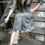 Maxi dress ชุดเดรสเกาหลี ทรงผูกป้าย พร้อมส่ง thumbnail 5