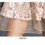 ชุดเดรสเกาหลี พร้อมส่ง เดรสผ้าลูกไม้ ลายดอกไม้สีครีม thumbnail 14
