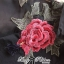 พร้อมส่ง เชิ้ตผ้าคอตตอนปักลายดอกกุหลาบประดับพู่ thumbnail 11