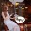 ชุดเดรสเกาหลี พร้อมส่ง Dress ชุดกระโปรงสุดหวานสีขาว thumbnail 3