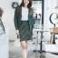 เสื้อผ้าแฟชั่นเกาหลี SET ไหมพรม พร้อมส่ง thumbnail 5