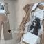 พร้อมส่ง เสื้อลายหน้าผู้หญิงกับกางเกง thumbnail 3