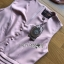 พร้อมส่ง จัมป์สูทผ้าเครปสีชมพู thumbnail 10