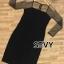 พร้อมส่ง Dress งานสวย ลุคเรียบหรูดูไฮโซ thumbnail 6
