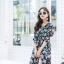 ชุดเดรสเกาหลี พร้อมส่ง เดรสยาวผ้าทิ้งตัวพลิ้วสวยสุดๆ thumbnail 5