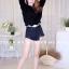เสื้อเกาหลี พร้อมส่ง เสื้อแขนยาวไหมพรม thumbnail 3